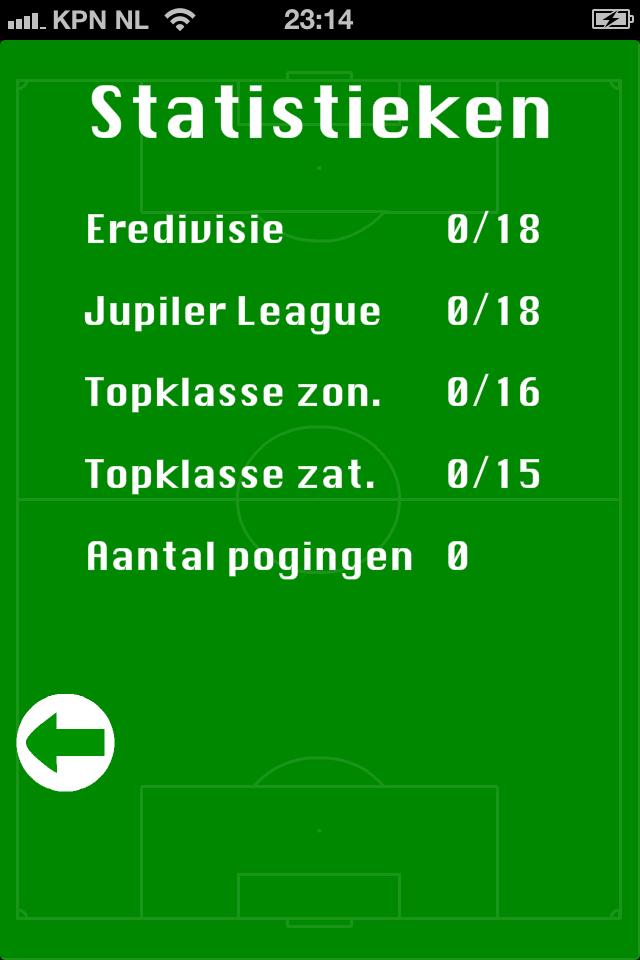 Screenshot NL Clublogo's